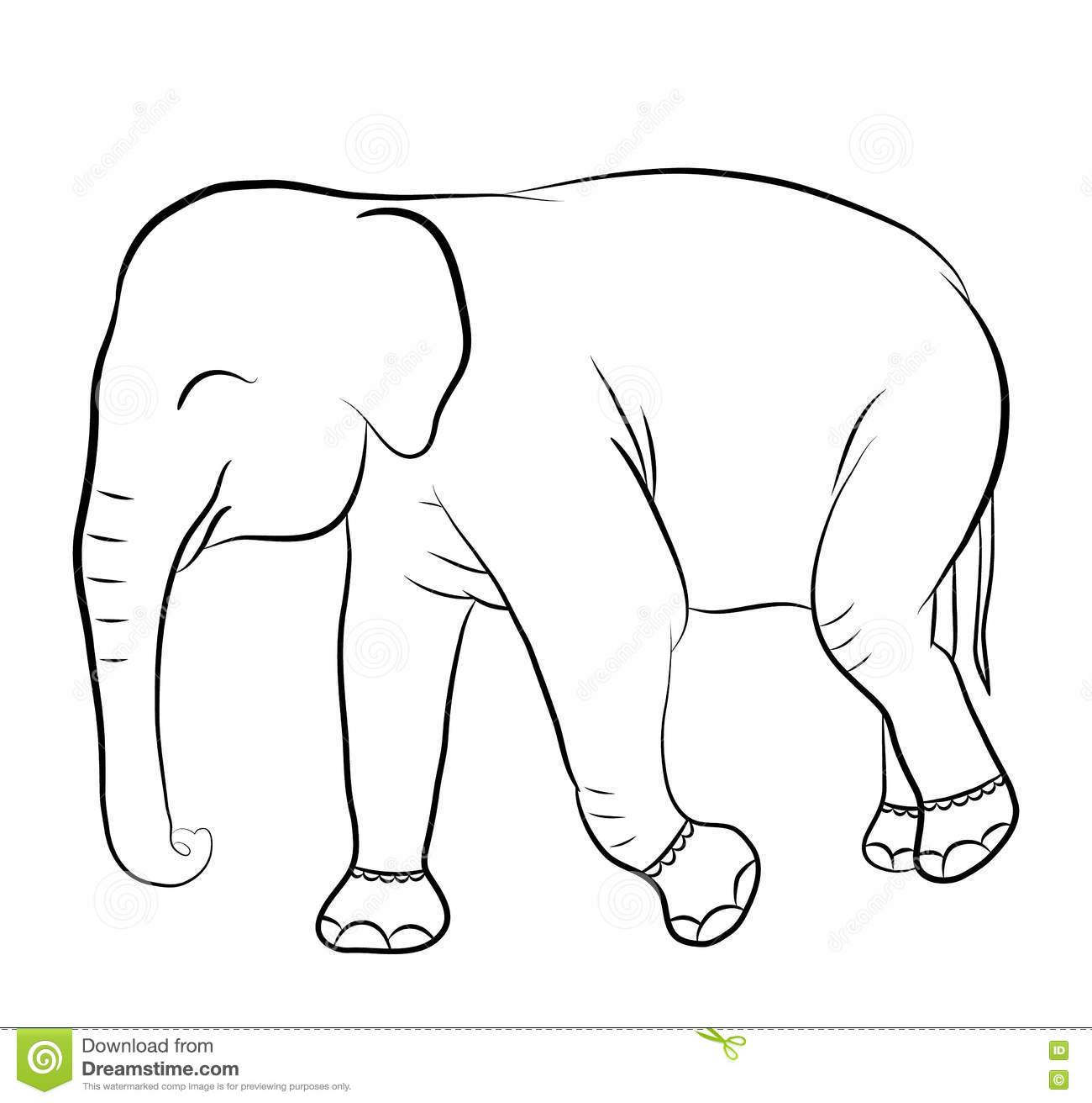 Asombroso Elefante Para Colorear Para Imprimir Friso - Ideas Para ...