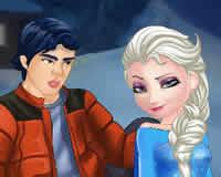 Besos Elsa y Ken