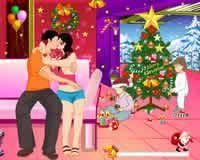 Besos en Navidad