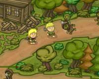 Camino de zombies