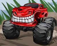 Camiones monstruo de juguete