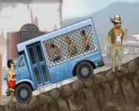 Conductor de bus de prisioneros