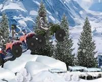 Cuatrimoto en nieve