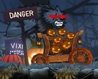 Escapa del lobo Halloween