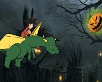 Gokú en Halloween