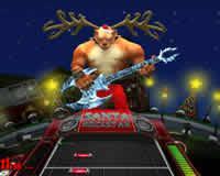 Guitar Hero online de Santa 5