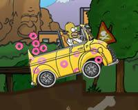 Homero recoge donas