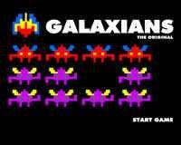 Galaxians – inspirado en Space invaders