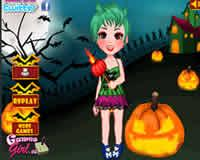 Vístela para halloween