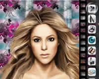 Maquillar a Shakira