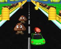 Mario en auto