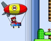 Mario en dirigible