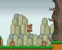 Mario en flash
