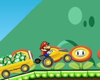 Mario en tractor