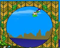 Mario en el mundo de Sonic