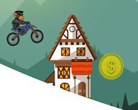 Mono motocross de invierno