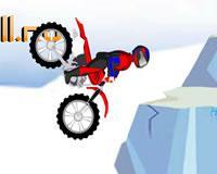 Motocicleta trial chica