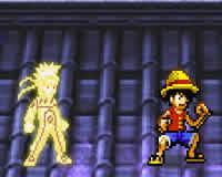 Naruto vs Luffy quien gana