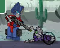 Optimus Prime vs Zombies
