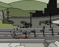 Palas contra zombies