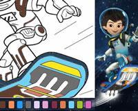 Pinta al astronauta