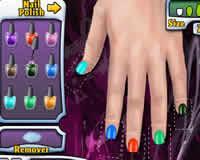Juegos de pintar las uñas