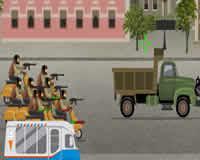 Dispara al camión