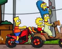 Los Simpsons en moto
