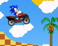 Sonic viaje en cuatrimoto