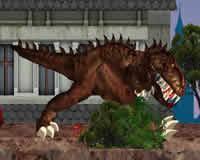 Tiranosaurios en Londres
