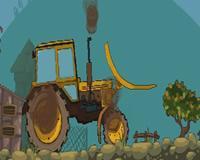 Tractor al extremo