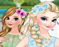 Viste a Elsa y Ana