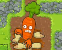 Zanahorias bajo ataque