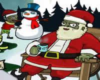 Zombies navideños