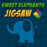 Rompecabezas de elefantes para niños