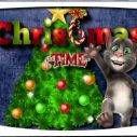 Talking Tom de Navidad
