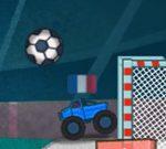 Camiones monstruo futboleros