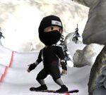 Ninja esquiador